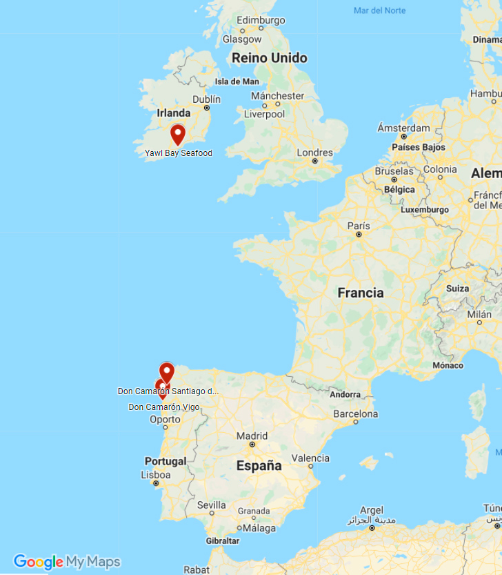 mapa don camarón