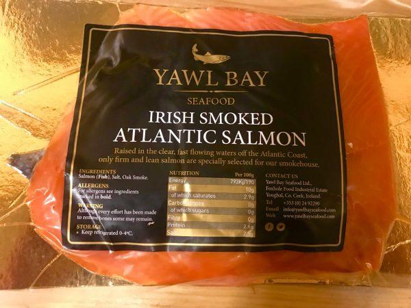 salmón ahumado de irlanda